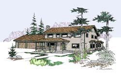 Traditional Style Floor Plans Plan: 33-245
