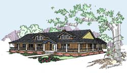 Ranch Style Floor Plans Plan: 33-281