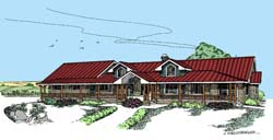 Ranch Style House Plans 33-283