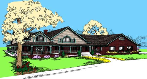 Traditional Style House Plans Plan: 33-284