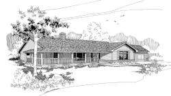 Ranch Style Floor Plans Plan: 33-303