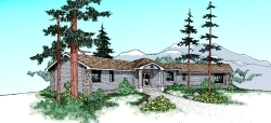 Ranch Style House Plans Plan: 33-314