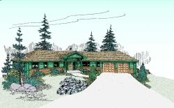 Northwest Style Floor Plans Plan: 33-353