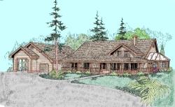 Farm Style Floor Plans Plan: 33-356