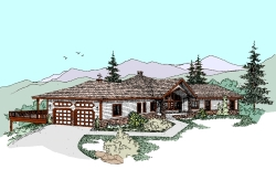 Northwest Style House Plans Plan: 33-413