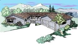 Northwest Style Floor Plans Plan: 33-422