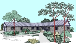 Ranch Style House Plans Plan: 33-424