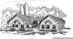 Northwest Style House Plans Plan: 33-454