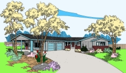 Northwest Style House Plans Plan: 33-456