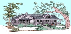 Traditional Style House Plans Plan: 33-518