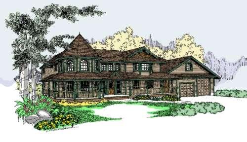 Victorian Style Floor Plans Plan: 33-520