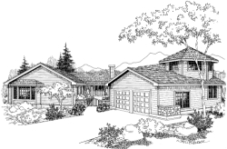 Traditional Style Floor Plans Plan: 33-596