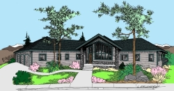 Contemporary Style House Plans Plan: 33-600