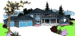 Northwest Style House Plans Plan: 33-601