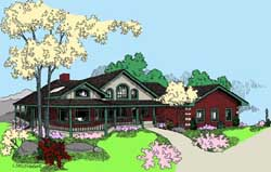 Traditional Style House Plans 33-626