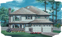 Traditional Style House Plans Plan: 35-125