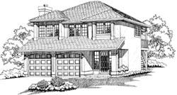 Northwest Style House Plans Plan: 35-130