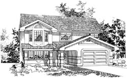 Southwest Style House Plans Plan: 35-144