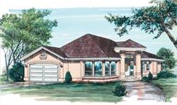 Southwest Style Floor Plans Plan: 35-151