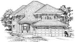 Northwest Style House Plans Plan: 35-158