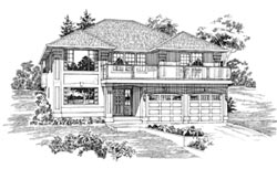 Northwest Style House Plans Plan: 35-159