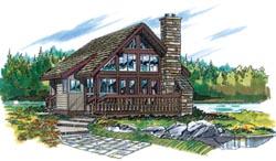 Contemporary Style Home Design Plan: 35-193