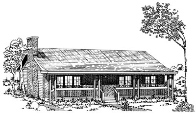 Ranch Style House Plans Plan: 35-213