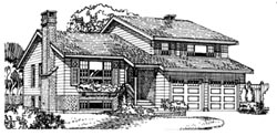 Northwest Style Floor Plans Plan: 35-219