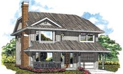 Northwest Style Floor Plans Plan: 35-227