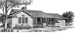 Country Style House Plans Plan: 35-241