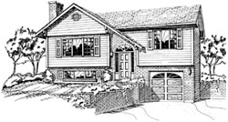 Traditional Style Home Design Plan: 35-252