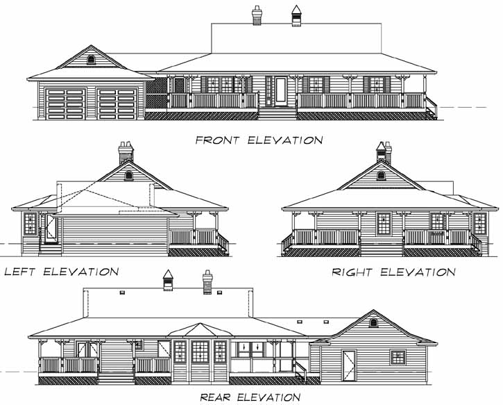 Rear Elevation Plan: 35-280