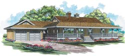 Country Style House Plans 35-280