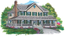Country Style House Plans 35-288
