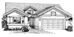 Southwest Style Floor Plans Plan: 35-302