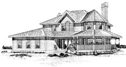 Country Style House Plans Plan: 35-316