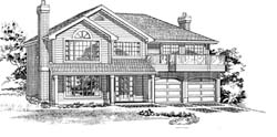 Traditional Style House Plans Plan: 35-340