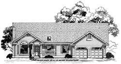 Traditional Style House Plans Plan: 35-355