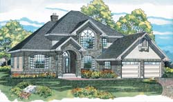 Traditional Style Floor Plans Plan: 35-368