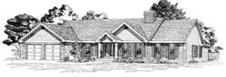 Ranch Style Floor Plans Plan: 35-374