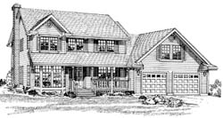 Traditional Style Floor Plans Plan: 35-376