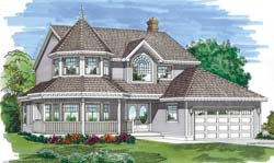 Victorian Style Floor Plans Plan: 35-381