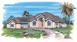 Sunbelt Style House Plans Plan: 35-403
