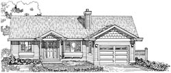 Traditional Style House Plans Plan: 35-408