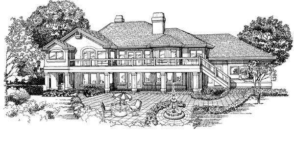 Rear Elevation Plan: 35-415