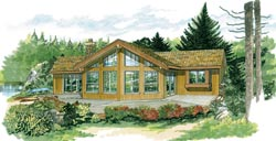 Contemporary Style Floor Plans Plan: 35-419