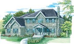 Farm Style Floor Plans Plan: 35-435