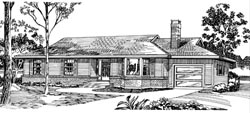 Ranch Style House Plans Plan: 35-469