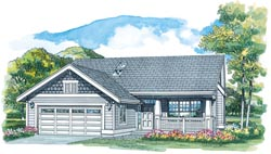 Craftsman Style House Plans Plan: 35-476
