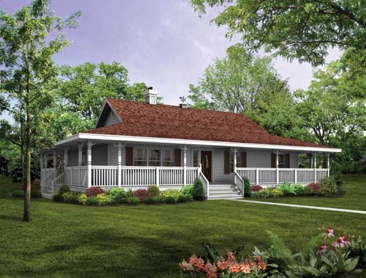 Farm Style House Plans Plan: 35-488